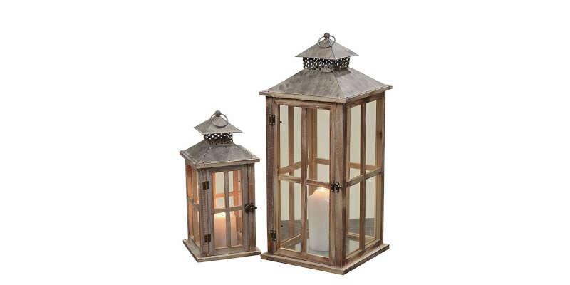 Portavelas faroles y candelabros el corte ingl s - Portavelas grandes ...